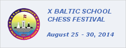 X Baltic School Chess Festival